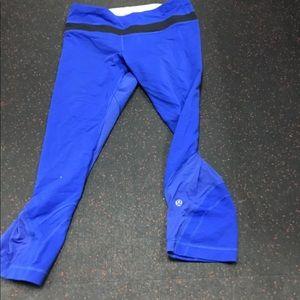 Blue leggings Lulu